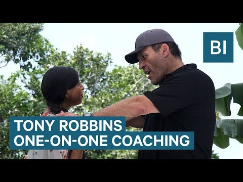 Tony Robbins One-On-One Coaching Session