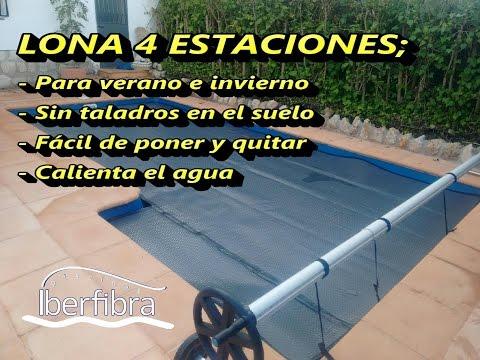 Lona solar para piscinas