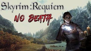 Skyrim - Requiem 2.0 (без смертей) - Альтмер-зачарователь #14 Финал: Битва с Алдуином + Лабиринтиан