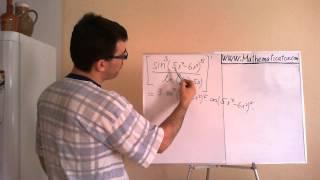 Derivace - podíl složených funkcí