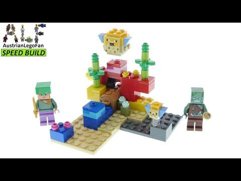 Vidéo LEGO Minecraft 21164 : Le récif corallien