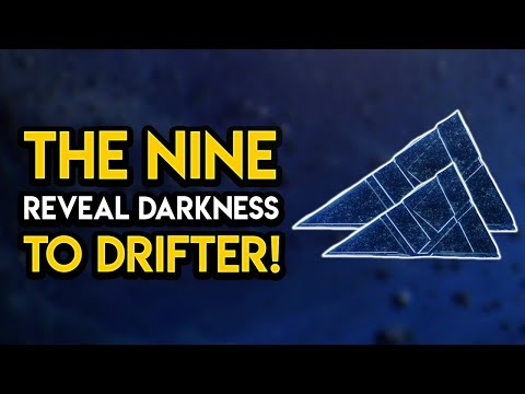 Destiny 2 - THE NINE REVEAL DARKNESS TO DRIFTER! New Cutscene, Secrets, MORE!