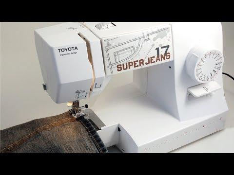 Toyota Super Jeans SUPERJ17 naaimachine