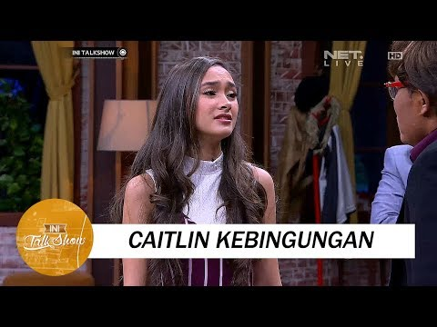 Caitlin Kebingungan Adu Akting Dengan Sule