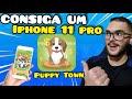 Puppy Town Consiga Um Iphone 11 Pro Jogando Ele Como Ga