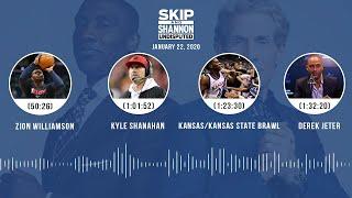 Zion Williamson, Kyle Shanahan, Derek Jeter (1.22.20) | UNDISPUTED Audio Podcast