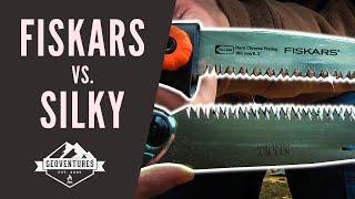 Fiskars SW 73 vs. Silky Pocketboy - 2 Sägen im Vergleich