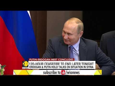 Turkey's President Erdogan meets Russian President Putin in Sochi