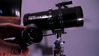 Review Celestron PowerSeeker 127EQ