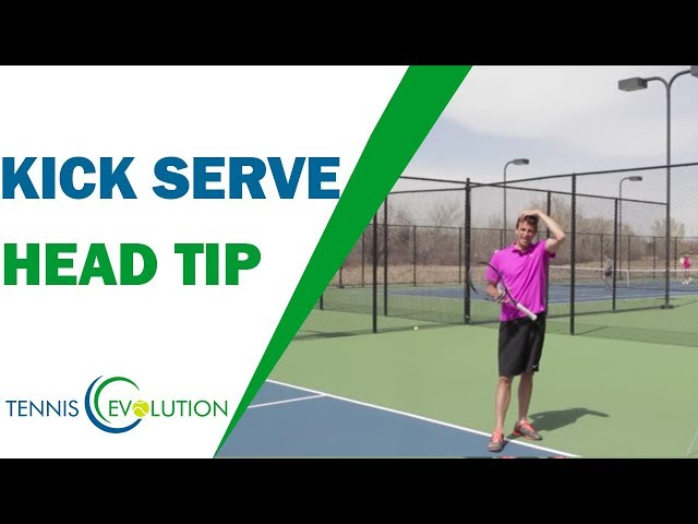 Kick Serve Head Tip (DO THIS!) | TENNIS SERVE