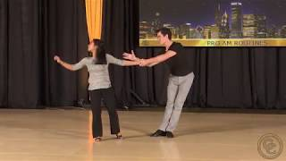 Chicago Classic 2019 Intermediate Advanced Pro Am Routine Nigelle Ferrer with Jesse Lopez