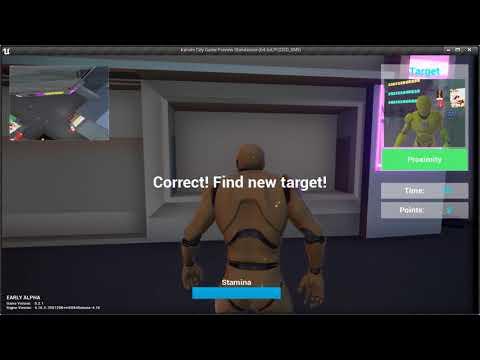 Highlight new target
