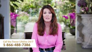 Lisa Vanderpump supports The Trevor Project
