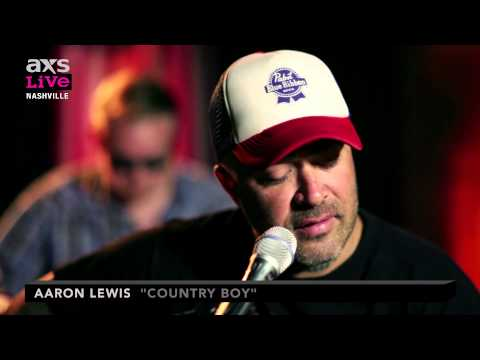 Aaron Lewis Performs Country Boy On Axs Live Chords