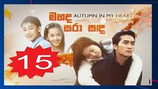 Autumn In My Heart Episode 15 Subtitle Indonesia