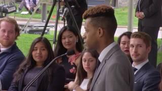 Harvard Male Orator Jonathan Roberts | Harvard Commencement 2017