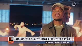 Backstreet Boys llegan con nuevo éxito a Viña 2019