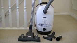 Miele Classic C1 Ecoline Cylinder Vacuum Cleaner Unboxing & First Look