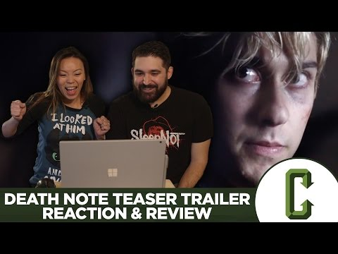 Death Note Teaser Trailer Reaction & Review