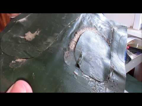 Самостоятельный ремонт надувной лодки  из ПВХ