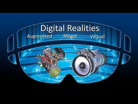 Digital Realities for Augmented, Mixed and Virtual Reality Technologies