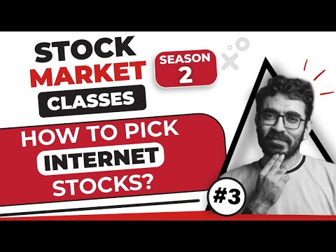 How to analyze digital companies   How to pick internet stocks   Stock Market Classes Episode 3