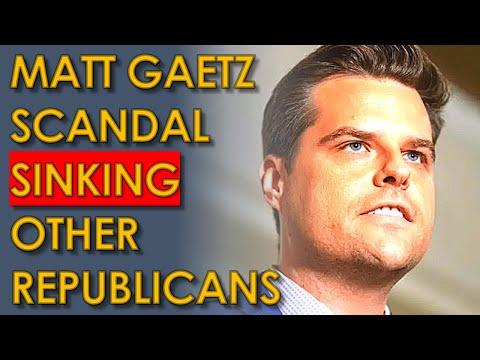 Matt Gaetz Scandal may Drag Down DOZENS of other Republicans