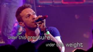 Coldplay Adventure of a Life Time [Live with Lyric]