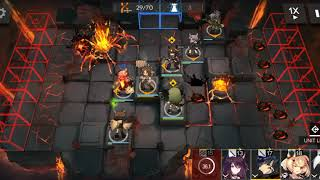 Silence  - (Arknights) - Arknights OF-F4 map with Saria and Silence