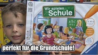 Tiptoi - Wir spielen Schule (Ravensburger) - ab 5, 6, 7 Jahre - perfekt für 1.Klasse / Grundschule