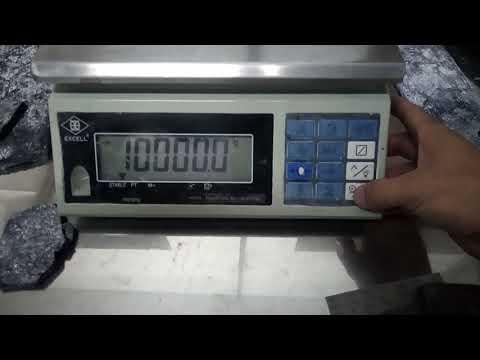 Hiệu chuẩn cân EXCELL AWH - Calibration of electronic balance