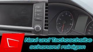 Navi Display und Tachoscheibe reinigen - Koch Chemie ASC All Surface Cleaner Test und Alternativen