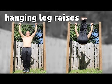 Hanging Leg Raise Progression | How To Do Toes To Bar