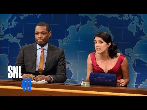Weekend Update: Girl at a Party - Saturday Night Live
