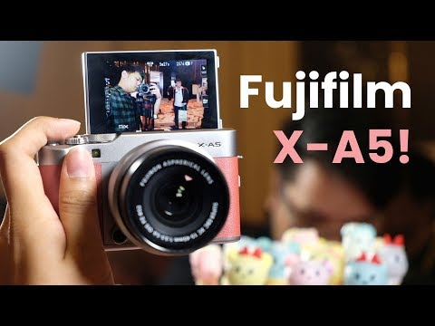 Fujifilm X-A5 first impressions