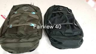 Osprey Fairview 40 / Misty Grey (009.1603) - відео 1