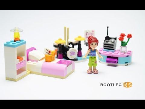 Vidéo LEGO Friends 3939 : La chambre de Mia
