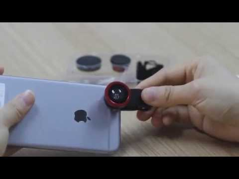 Universal Clip Lens (Fisheye/ Wide-angle/ Macro Lens) for cellphone Review – Test by iPhone 6