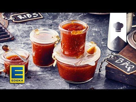 BBQ Sauce Rezept | Leckere Grill-Sauce selber machen | EDEKA