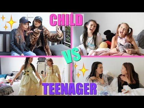 Child Vs Teen You Girlys Blog