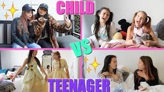 CHILD VS TEEN YOU | GIRLYS BLOG