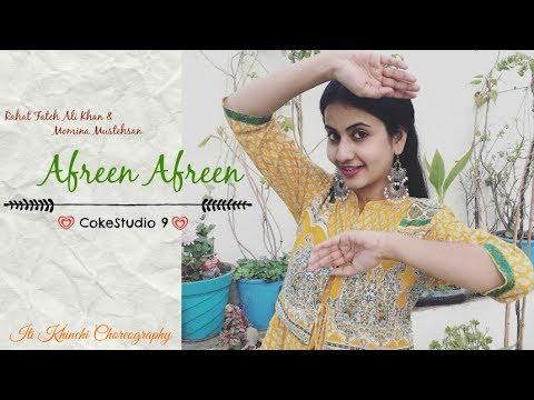 Afreen Afreen | Rahat Fateh Ali Khan & Momina Mustehsan | CokeStudio 9 | Iti Khinchi Choreography