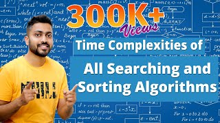 Time Complexities of all Searching and Sorting Algorithms in 10 minute | Imp GATE and other Exams