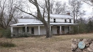 #43 Abandoned 1800s home +AMAZING metal detecting FIND. Mint Seated!