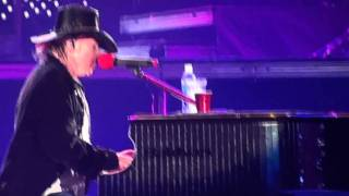 Guns N' Roses - November Rain 2010 Antwerp