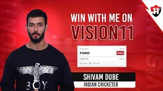 Now, even Shivam Dube,