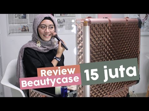 Review Beautycase Sonia Miller yang Super Elegan untuk MUA