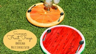 Summer Fruit Platters