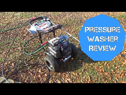 Simpson Pressure Washer with 3200 psi Review