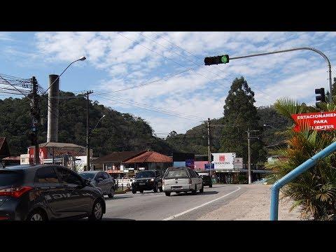 Friburgo: motoristas comemoram sinais na Ponte da Saudade, mas pedem melhorias